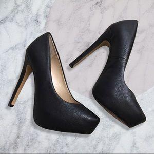 BCBG Black pumps high heels